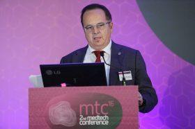 Ομιλία: Γεώργιος Παναγιωταράκος, Διευθύνων Σύμβουλος, Siemens Healthineers - Τίτλος παρουσίασης: «Siemens Healthineers: Παρέχοντας τη δυνατότητα για καλύτερα Κλινικά, Επιχειρησιακά & Οικονομικά αποτελέσματα με χαμηλότερο κόστος»
