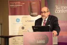 Θεσμικός Χαιρετισμός:  Παύλος Α.Β. Αρναούτης, Πρόεδρος, Σύνδεσμος Επιχειρήσεων Ιατρικών & Βιοτεχνολογικών Προϊόντων (ΣΕΙΒ)