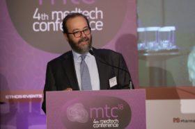 Θεσμικός Χαιρετισμός: Γεράσιμος Λειβαδάς, Πρόεδρος, Σύνδεσμος Επιχειρήσεων Ιατρικών & Βιοτεχνολογικών Προϊόντων (ΣΕΙΒ), Ιδρυτής & Διευθύνων Σύμβουλος, Α & Λ Ιατρικές Προμήθειες ΑΕ