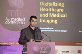 Ομιλία: Σίμος Γ. Κοκκοβός, Υπεύθυνος Τμήματος Ψηφιακών Υπηρεσιών Υγείας, Siemens Healthineers - Τίτλος Ομιλίας: «Ψηφιακή Τεχνολογία και Εφαρμογές στην Ιατρική Απεικόνιση»