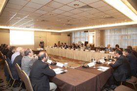 Κλειστή συνάντηση εργασίας: Γενική άποψη από το Επίσημο πρόγευμα